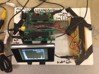 analisador de espectro com AVR