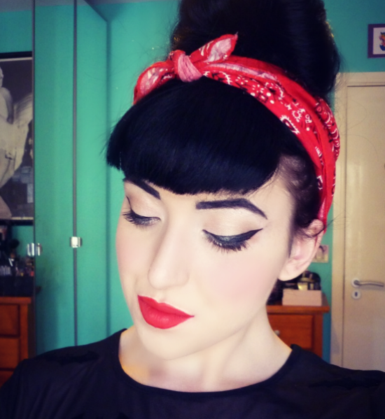 Rockabilly Bangs  Hairstyle Stars