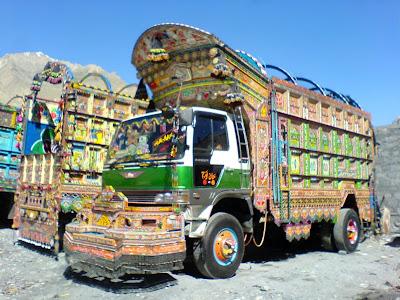 Sost - Pakistan Trucks