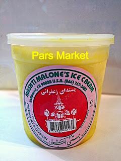 Mashti Malone's Rose Water, Saffron, Pistachio Ice Cream