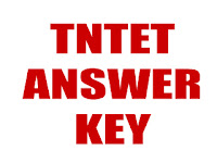 TN TET Exam 2013 - Answer Key