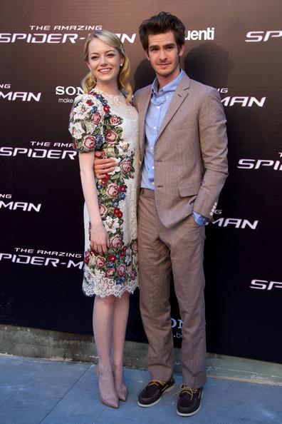 The Amazing SpiderMan-Hero Andrew Garfield and Heroin Emma Stone_MyClipta