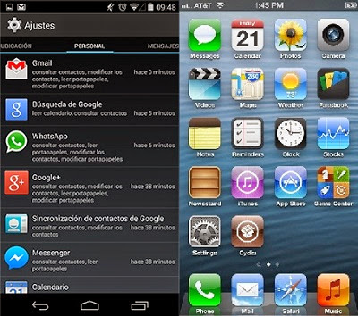 Seguridad al intalar apps en Android e IOS