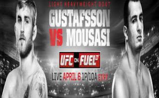 Gustafsson vs. Mousasi
