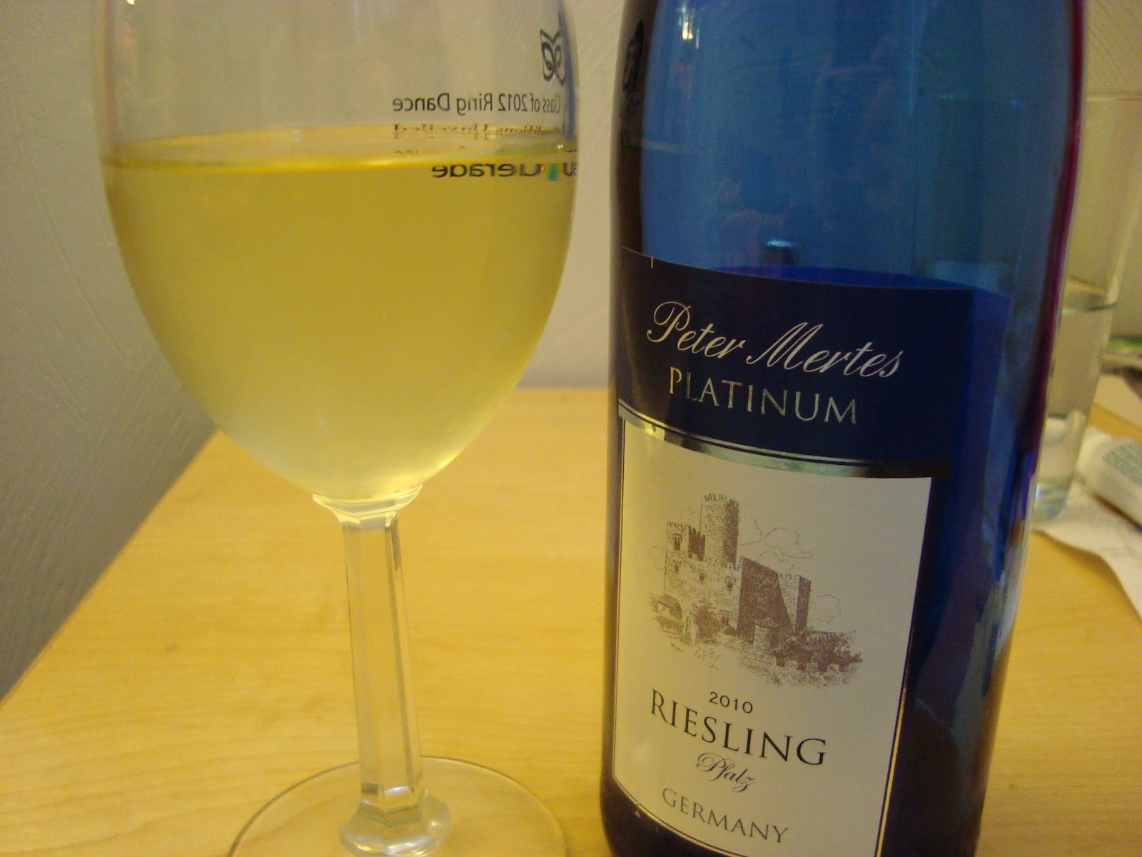 Peter Mertes Platinum This wine was a