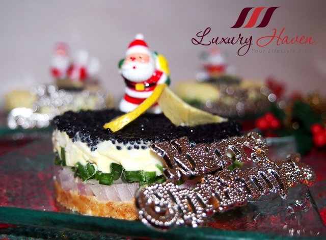 cute christmas caviar pie recipe