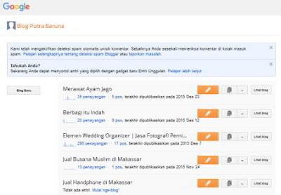 Cara Merubah Setting Bahasa Blogspot