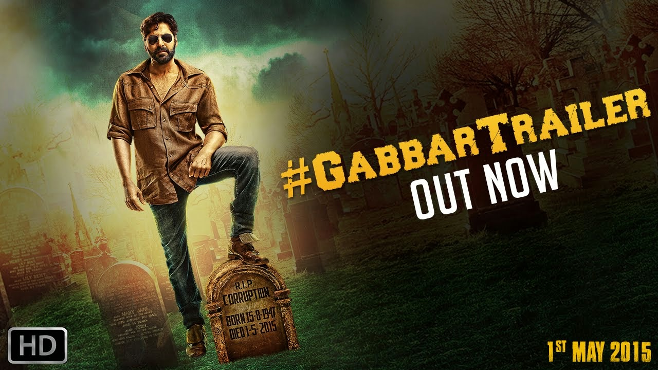 Gabbar Is Back Movie Official Theatrical Trailer (HQ) | Akshay Kumar & Shruti Haasan | 1st May, 2015