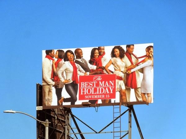 Best Man Holiday billboard ad