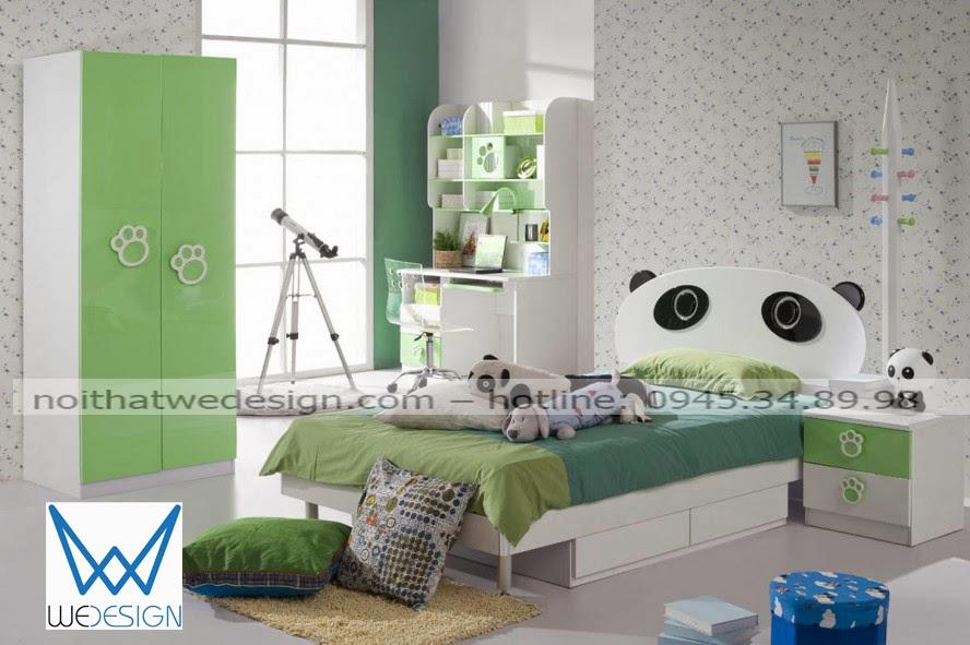 Phòng ngủ gấu con cho bé