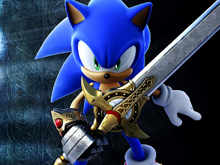 Sonic and The Dark Knight 3D Video Game HD Wallpaper