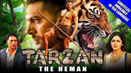 Tarzan The Heman 2018 Hindi Dubbed HDRip | 720p | 480p