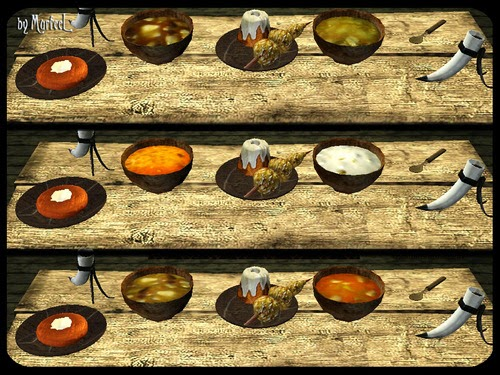 My sims 3 blog skyrim food decor conversions by murfeelee - Plaque decorative cuisine ...