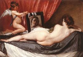 Venus ante el espejo
