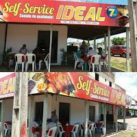 EM COELHO NETO SELF SERVICE IDEAL, IDEAL É  SELF SERVICE