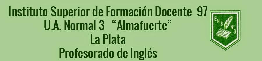 INSTITUTO SUPERIOR DE FORMACIÓN DOCENTE Nº 97-LA PLATA