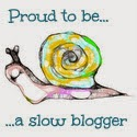 I'm a slow blogger