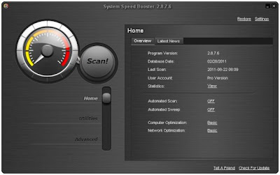 Free System Speed Booster 2.9.4.2 Full Crack