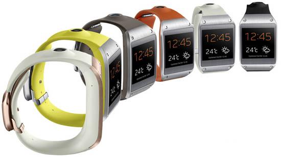 Samsung Galaxy Gear Jam tangan pintar