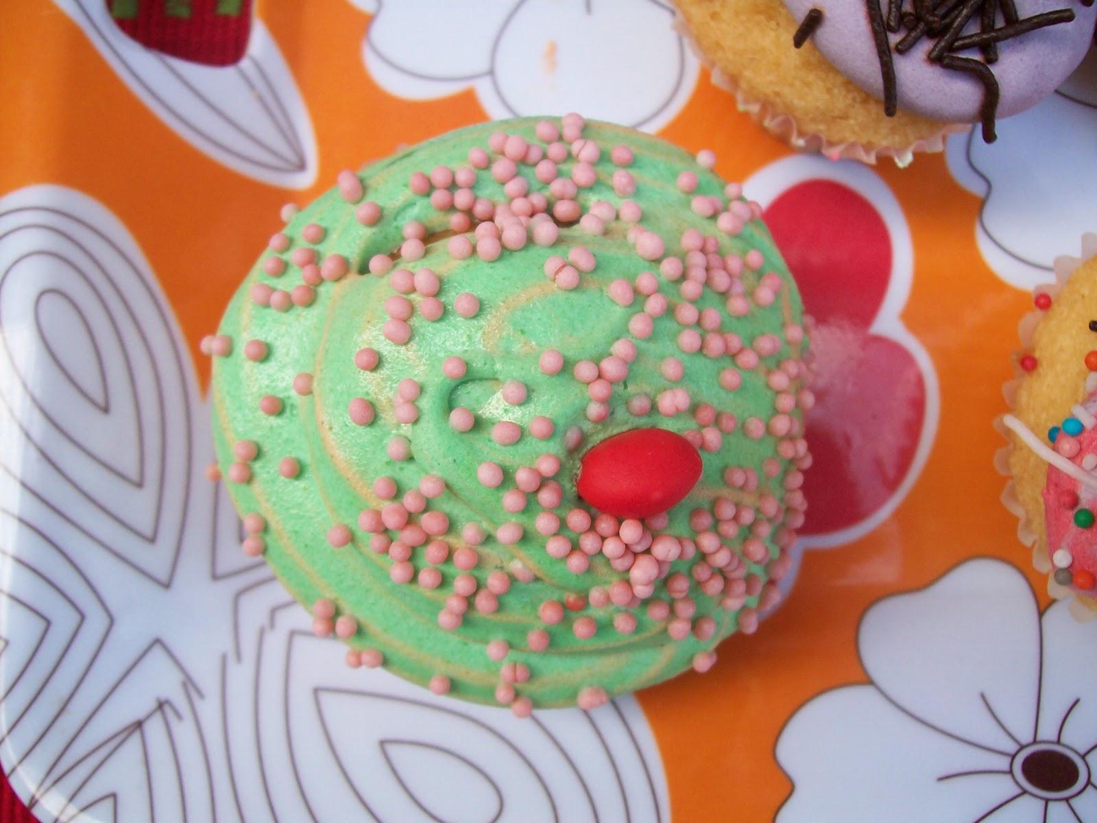 Mi cumple con cupcakes