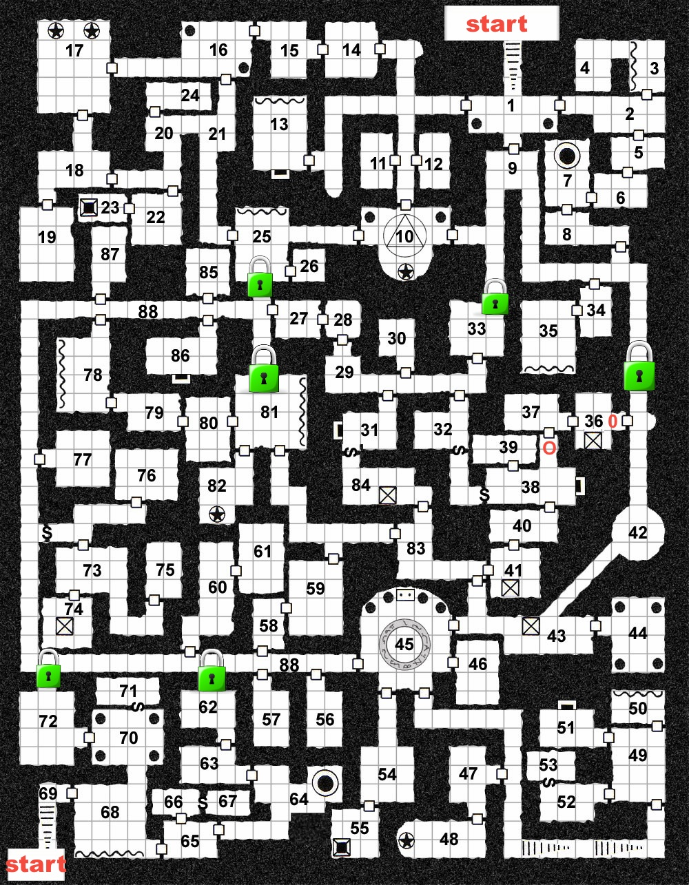 Dungeons and Dragons Maps PDF