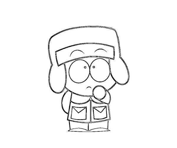 Free Printable South Park Coloring Pages