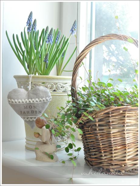 dekoracje wiosenne okno