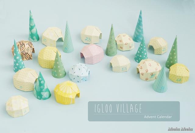 Advent Calendar Village Diy : Sew can do craftastic monday link up bloor west fabrics