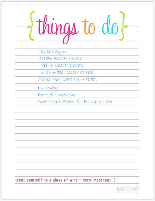 Sugar Spice in the land of Balls Sticks To Do or Not To Do – To Do List Template for Kids