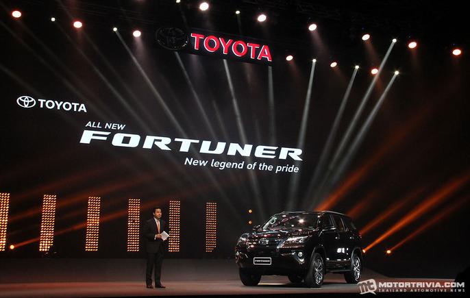 Peluncuran Toyota Fortuner Terbaru 2015 - 003