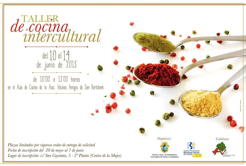 Abierto el plazo para el taller de cocina intercultural en for Taller de cocina teruel