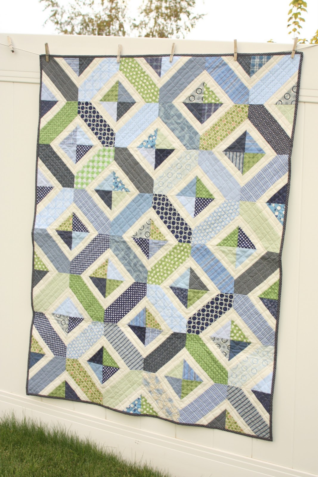 sizes btaylor meadow your quilts product custom green untitled modern size quilt made in