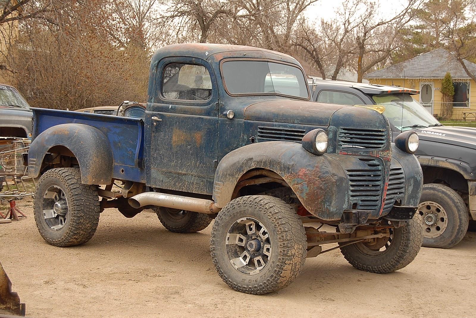 autoliterate: 1947 Dodge 1/2 ton truck