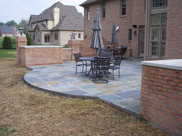 Patio design ideas thought for Easy cheap deck ideas