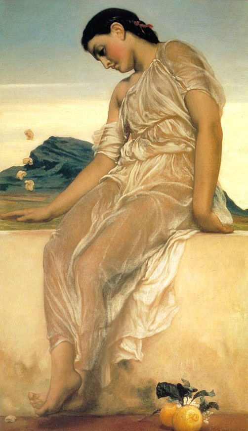 lord frederick leighton girl