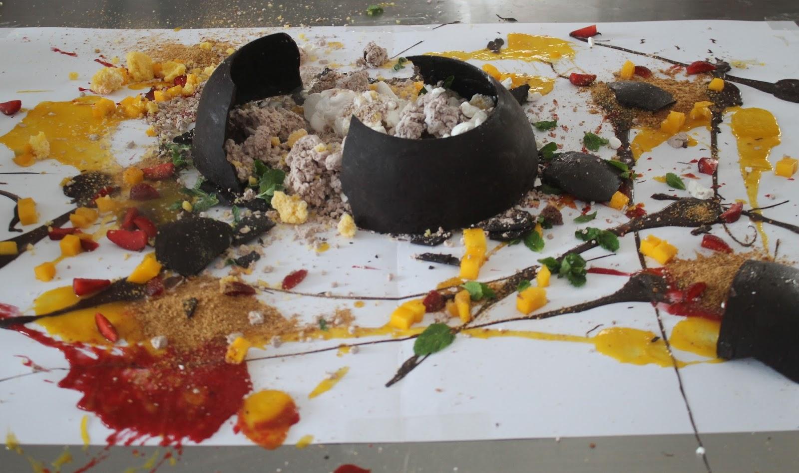 Kompas Tv Ajak Tristar Institute Bsd Syuting Bertemakan Molecular Spon Fancy Bulat Coklat Dimana Dalam Bola Cokelat Diisi Dengan Aneka Sponge Cake Mousse Dan Meringue Lalu Dituangi