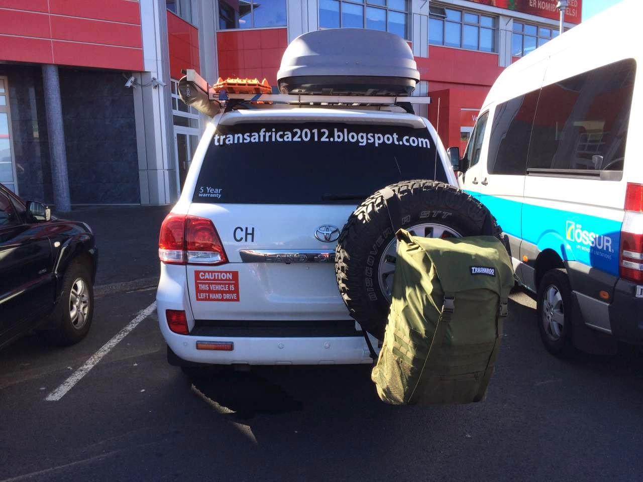 Produkt-Review und Test: Trasharoo - der Ersatzreifen Rucksack am Reserve-Rad