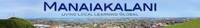 Manaiakalani: Living Local, Learning Global