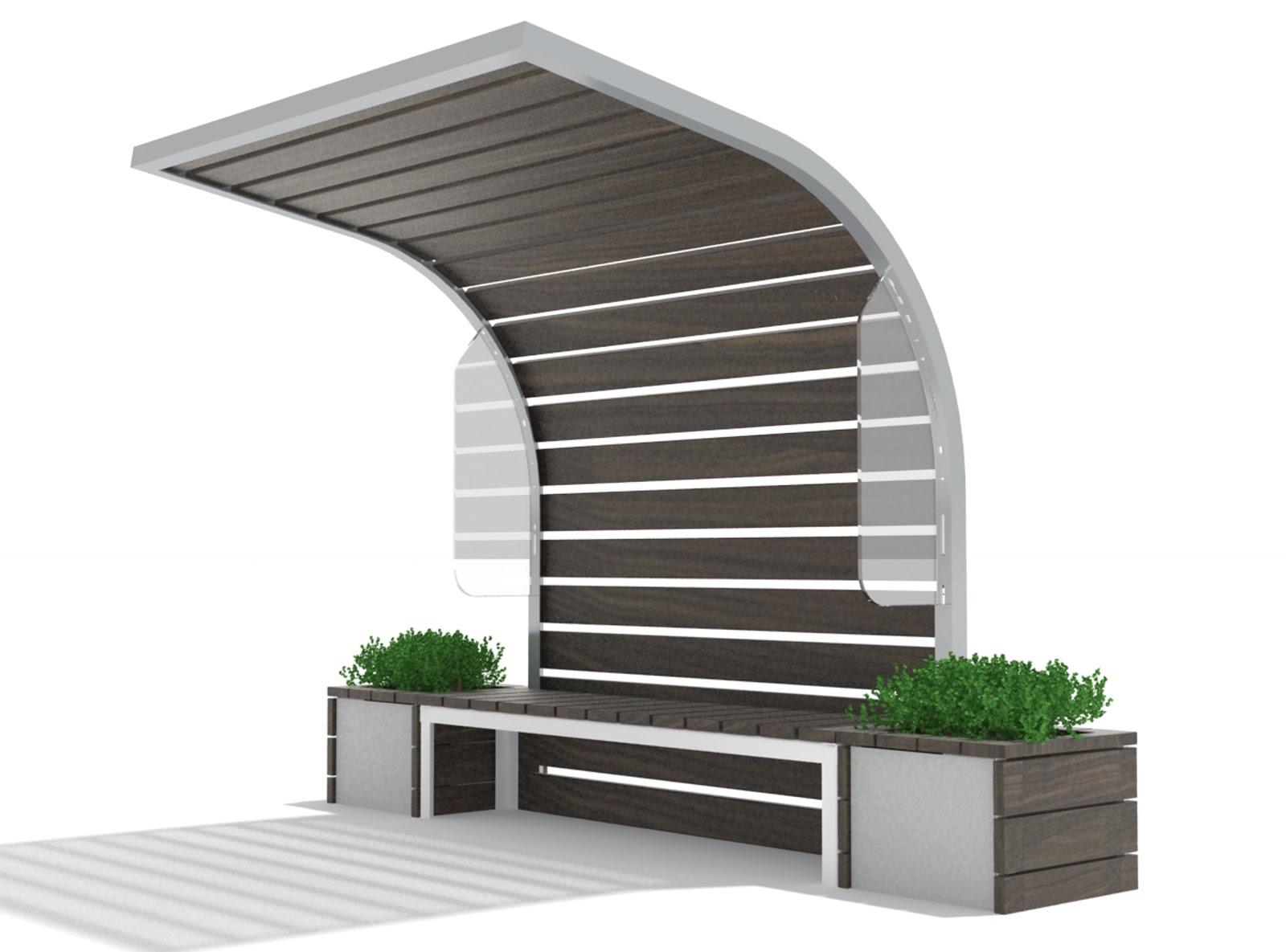 Base paisajismo equipamiento urbano marquesinas y andenes for Marquesinas para puertas de entrada