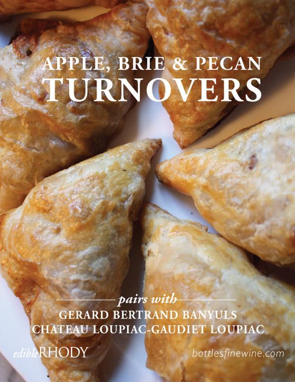 Apple Turnovers Recipe and Dessert Wine Pairing