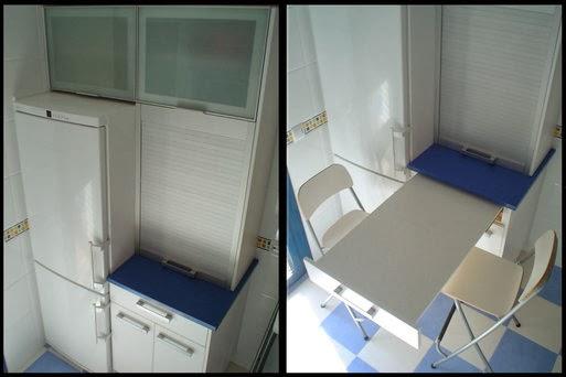 mesa cocina escondida en cajon