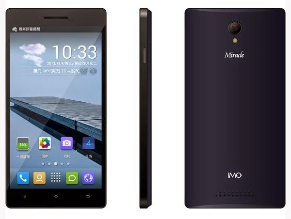 IMO Miracle II Smartphone Android Murah Rp 1 Jutaan