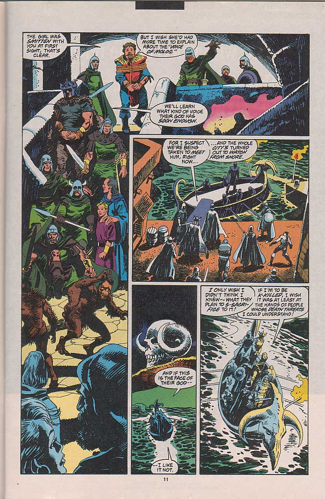 Conan the Barbarian (1970) Issue #263 #275 - English 11
