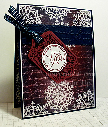 ombre, brayer, water stamping, stampin up, card, chalk talk