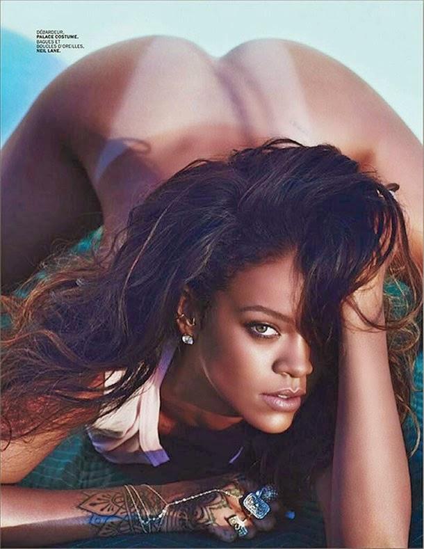 Fotos de Rihanna nua na revista Lui