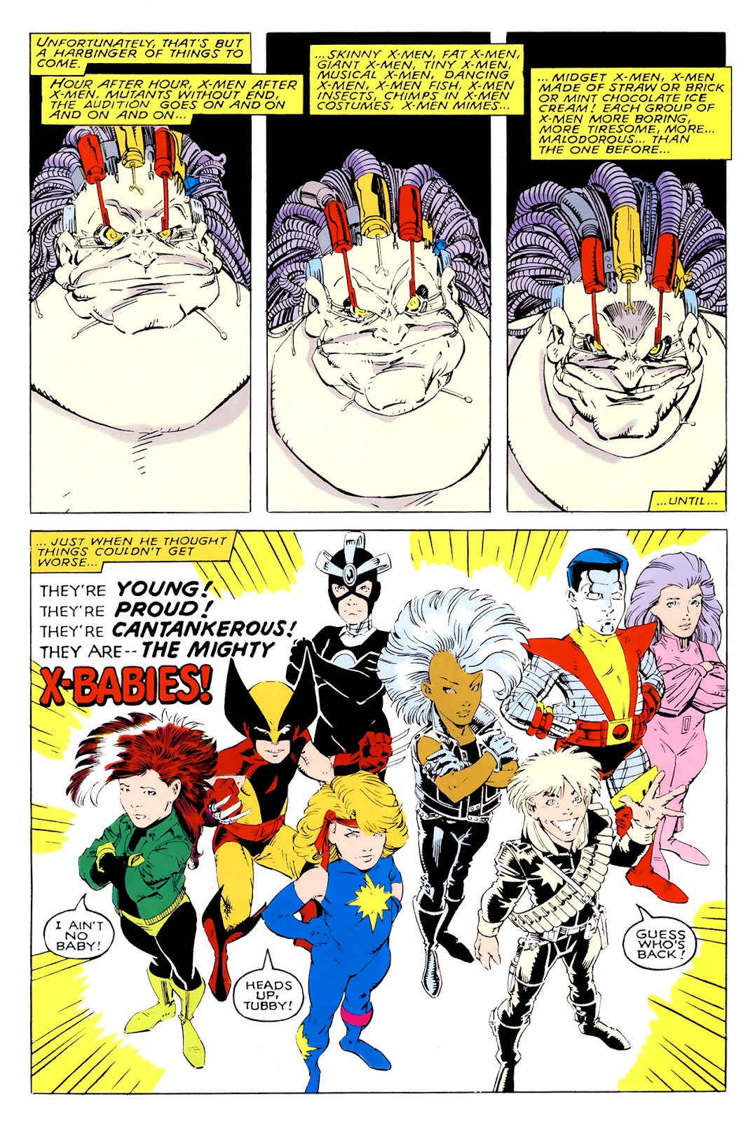 Read online X-Babies comic -  Issue #1 - 34