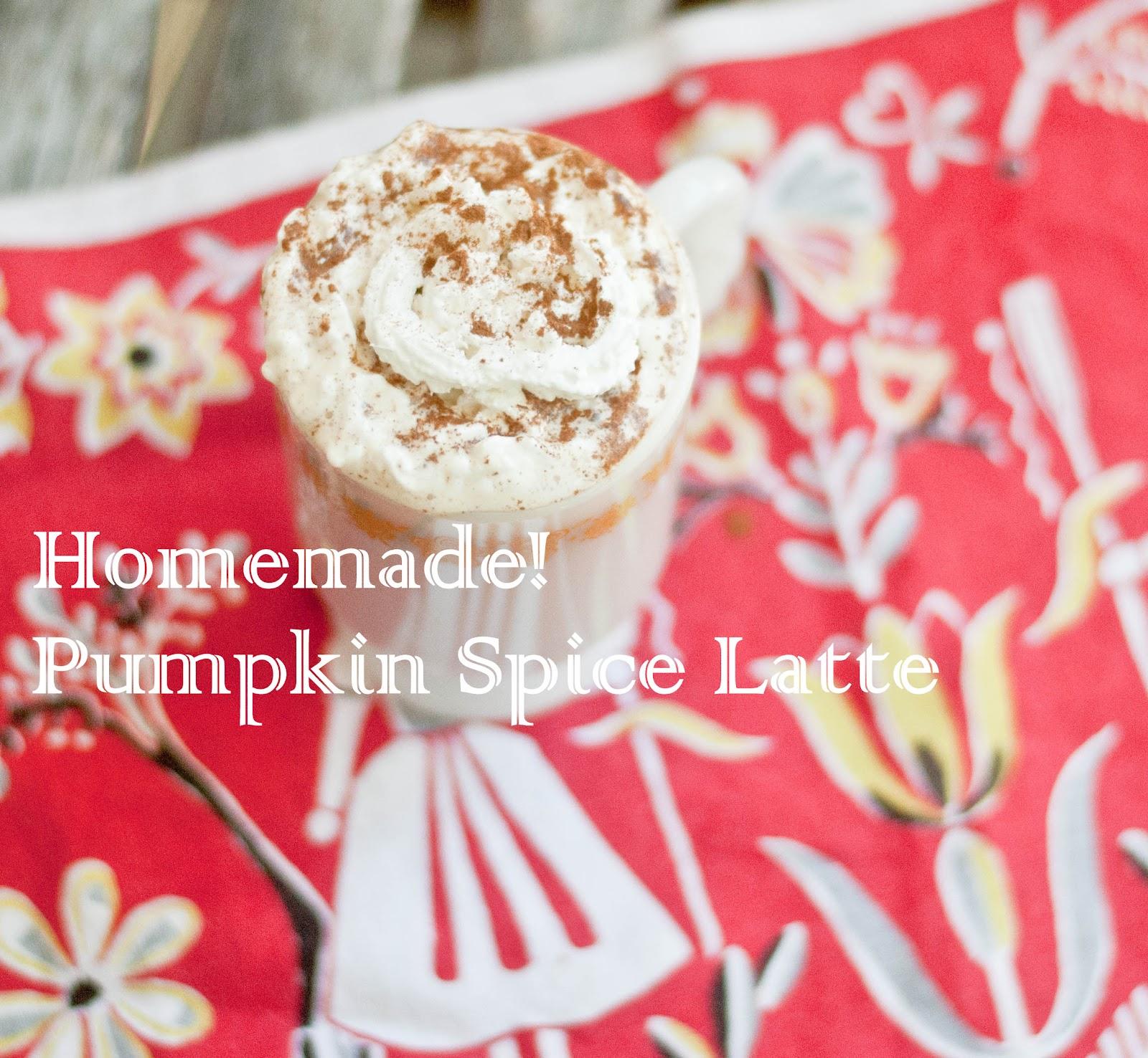 Home Made Starbucks Fall Drink