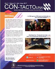 Boletín Institucional Con-Tacto UNA Mayo - Junio 2017