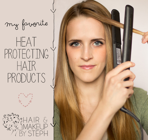 Best Heat hair and make-upsteph: best heat protecting products
