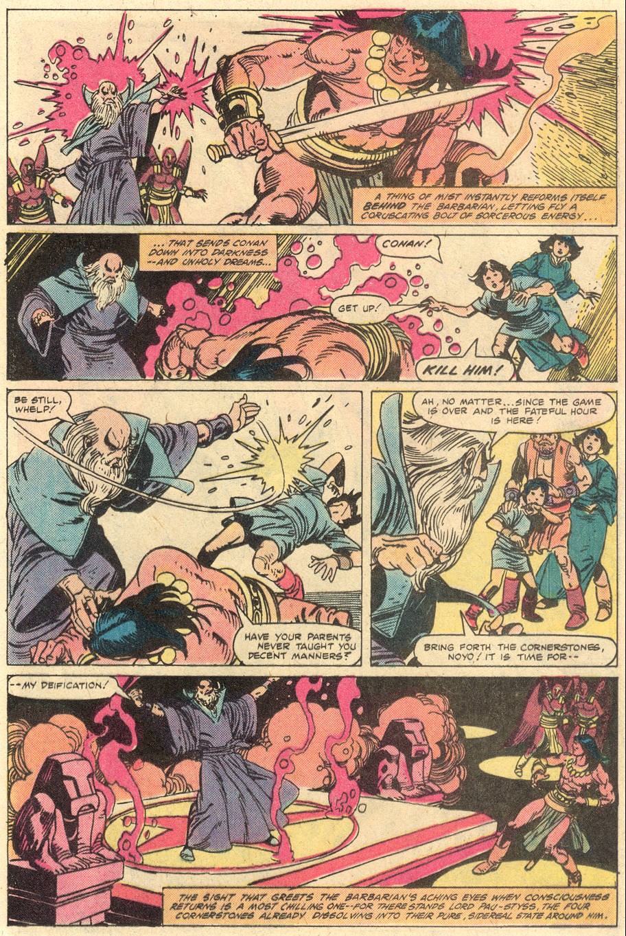 Conan the Barbarian (1970) Issue #130 #142 - English 18